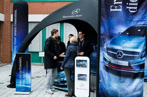Gybe Zelte für Mercedes