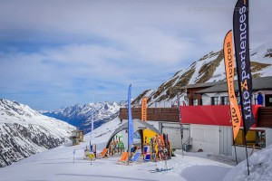 Eventdisplays im Skigebiet