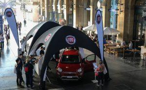pneumatisches aufblasbares Zelt von Display-Max für Fiat Eventausstattung